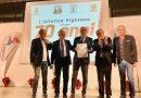 Foto: la consegna della Stella d'oro ad Atletica Vigevano