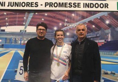 Chiara Melon ancora campionessa italian Under 23 sui 60 metri!