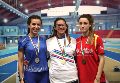 Chiara Melon seconda ai Campionati Italiani Assoluti Indoor!
