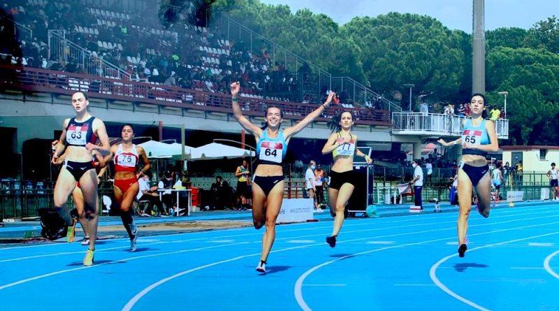 Weekend eccezionale per i cori ducali: Melon doppietta 100/200 ai Campionati Italiani Under 23, Pirolini Campionessa regionale U16 nei 300hs!
