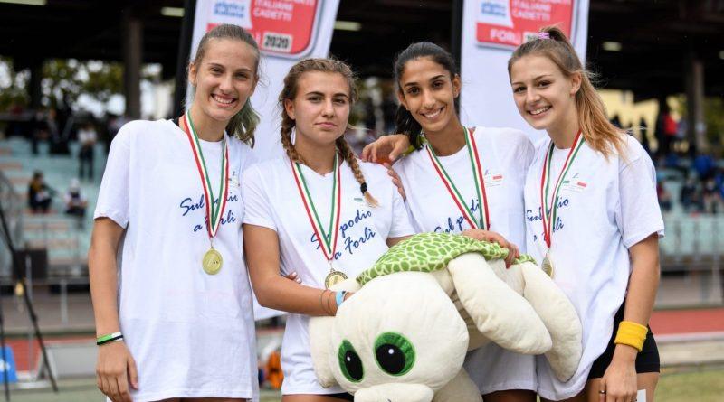 Campionati Italiani U16: Pirolini 7^ nei 300hs e oro con la staffetta 4×100!
